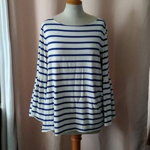 Banana Republic Boat Neck Top Size XL